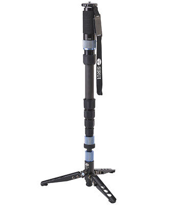 Sirui P-426SR Carbon Fiber Photo Video Monopod 10kg 22lb Max Load w/ Mini Tripod