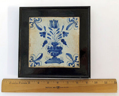 A RARE ENGLISH DELFT TILE, PICKLEHERRING OR ROTHERHITHE, Circa 1618 - 1650