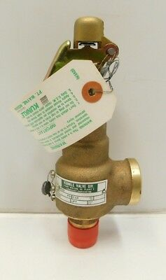 """NEW Kunkle 6010ED01 Safety Relief Valve 30 PSI 3/4""""""""  (C3-712)"""