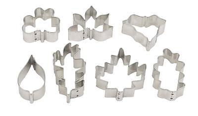 Mrs. Anderson's Baking 42111 Cookie and Fondant Cutters, Mini Leaf Shapes, Set