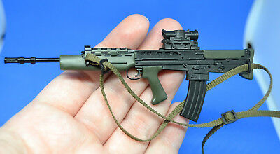 ☆ Brand New ☆ 1/6th Scale SA80 L85A1 British Army Rifle with accessories CS1