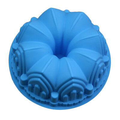 1pc Bundt Cake Pan Bread Chocolate Bakeware Silicone Cake Pastry Mold DIY