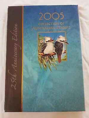 CLEARANCE Collection of 2005 Australian Stamps Deluxe stamp Album Australia Post