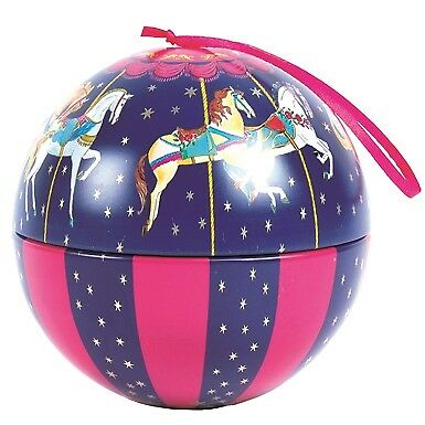 Milly Green Carousel Bauble Of Chocolate Coins 75 Gm