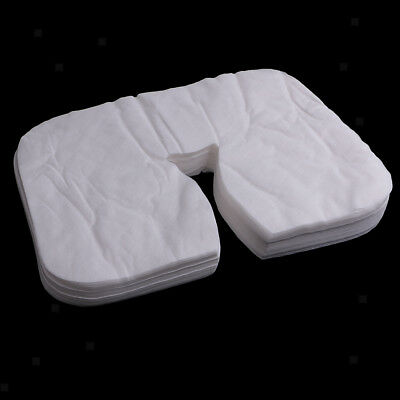 200x Disposable Massage Table Face Rest Cushion Cover Headrest Cradle Sheets