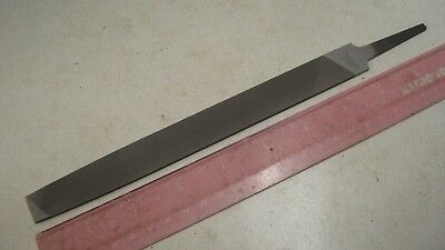 """8"""" Flat Hand File Smooth Cut Made By Simonds Never Used"""