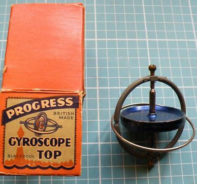 vintage boxed  gyroscope by Progress of Blackpool