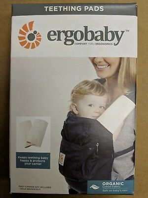 5403d3a0661 ERGOBABY 100% ORGANIC Teething pads for ANY Ergo baby Carrier ...