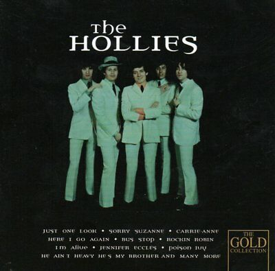 The HOLLIES - The Gold Collection - CD Album UK 20 songs On a Carousel Bus Stop