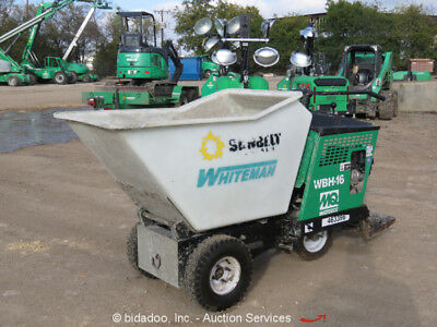 2012 Multiquip Whiteman WBH-16F SBRide On Self Propelled Concrete Power Buggy