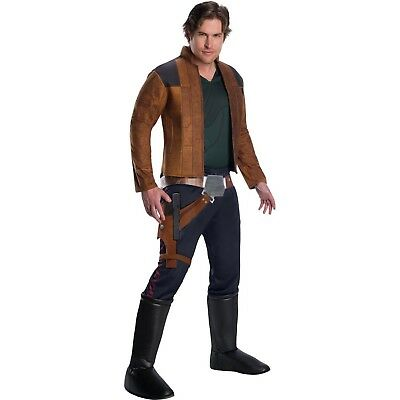Star Wars HAN SOLO Halloween Costume Adult Mens S L large Cosplay Movie