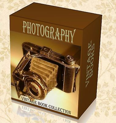210 Rare Early Photography Books on DVD Film Camera History Photo Lens Plates 61