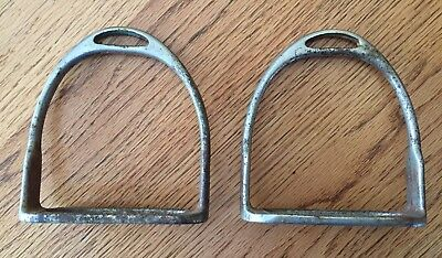Vintage...stirrups...country/western...iron...