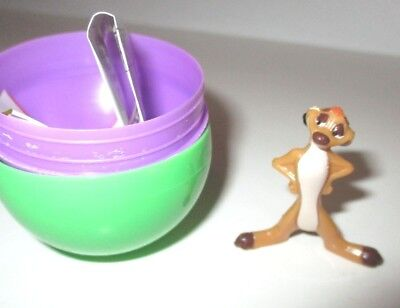 Disney Vintage Nestle Magic Candy Lion King Timon Toy Only No Chocolate Open