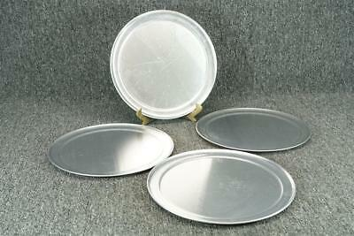 """Lot Of 4 American Metal Craft Inc. Round Small Pizza Trays 11"""""""