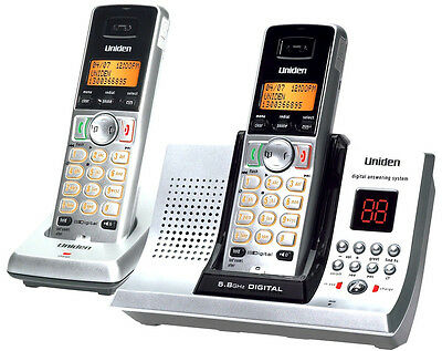 UNIDEN 5335+1 DIGITAL CORDLESS HOME OR OFFICE PHONE SYSTEM 5.8GHz ANS/MACHINE`