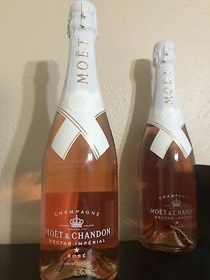 Moet & Chandon x Off White Limited Nectar Imperial Rose Virgil Abloh, Ships ASAP