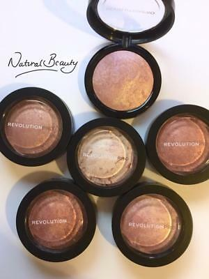 MAKEUP REVOLUTION PRO Skin Finish BAKED BRONZER Highlighter Mineralize Powder
