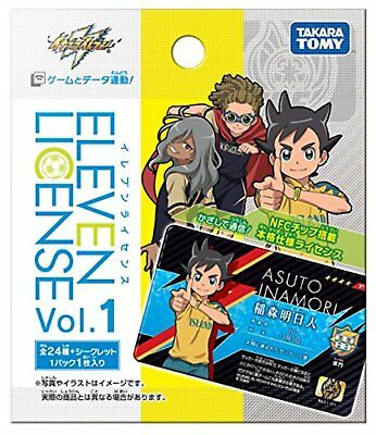 Inazuma Eleven Eleven license Vol.1 BOX Free Shipping with Tracking# New Japan