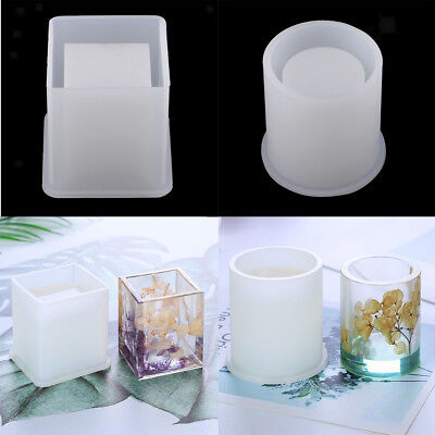 Brush Pot Silicone Mold Mould For Epoxy Resin DIY Dried Flower Crystal Craft