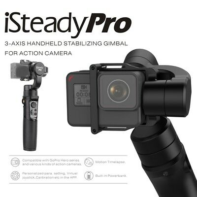 Hohem iSteady Pro 3-Axis Handheld Stabilizing Gimbal For Gopro 6/5/4/3 Sony RXo