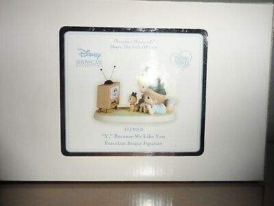 """Precious Moments Disney Showcase Collection-New in Box  """"Y"""", Because We Like You"""