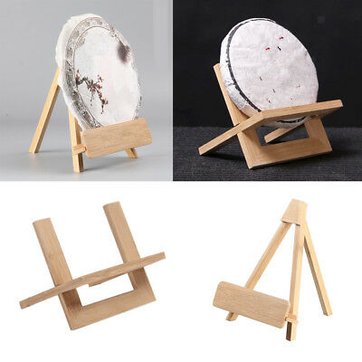 Mini Wooden Display Easel Stand Displaying Photo Christmas Decorative Plates
