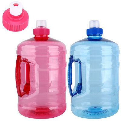 2L Big Large BPA Free Water Bottle Cap Kettle Sport Gym Training Camping Travel