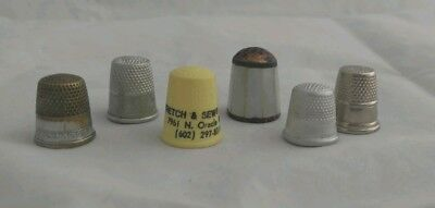Vintage Thimble Collection, sewing