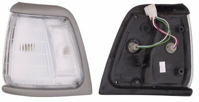 * Corner Park Light RIGHT Front Grey Surround Fits Toyota Hilux 2WD 91-94