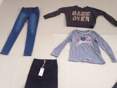 Girls Size 10 Clothing By Tedbaker Gum Bardot Seed Preloved Great Condition