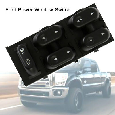 Master Power Window Switch Driver Side 5L1Z14529AA For Ford F150 Truck Mercury