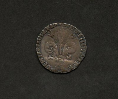 1424 Florence Silver Grosso Quelfo St. John Seated