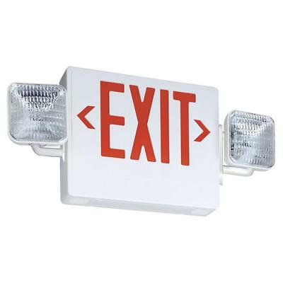 Lithonia Lighting Thermoplastic Integrated LED Emergency Exit Sign/Fixture Unit
