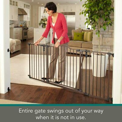 """North States MyPet 72"""" Extra Wide Windsor Arch Gate 38.3""""-72"""" wide 30"""" tall"""
