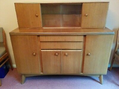 Vintage  Retro Mid Century Nathan Sideboard and Matching Display Unit
