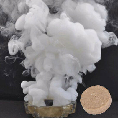 HOT White Smoke Cake Bomb Round Effect Show Magic Photography Stage Toy Tool