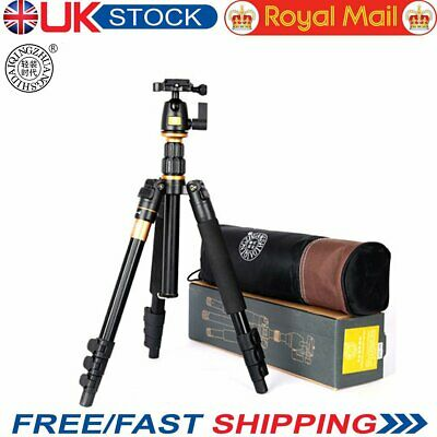 Camera Tripod  QZSD Q555 Aluminium Alloy Camera Video Monopod Extendable Tripod