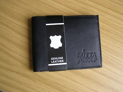 20 new Mens Black Soft Leather Wallets