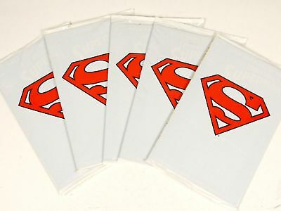 The Adventures of Superman 500 White Polybag Dealer Wholesale Lot of 5 Copies