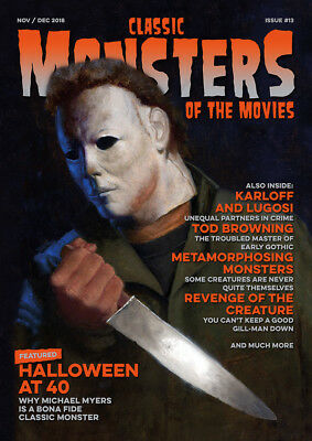 Classic Monsters Magazine Issue 13: Horror Film and Horror Movie Magazine