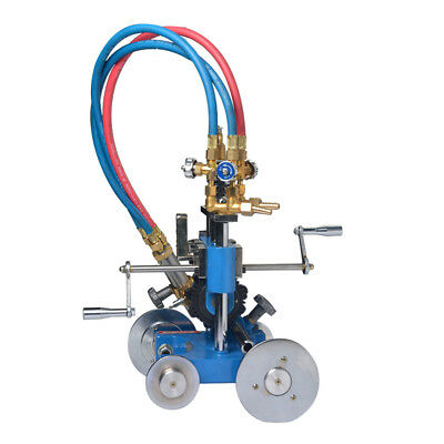Big hand Pipe Cutting Beveling Machine Torch Track Cutter #