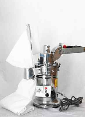 NEW  Automatic continuous Hammer Mill Herb Grinder,hammer grinder,pulverizer #