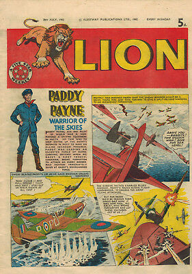 LION COMIC 28th July 1962