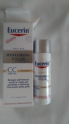 Eucerin Hyaluron Filler 50  ml CC Cream Hell  Kosmetik Anti Age LSF 15