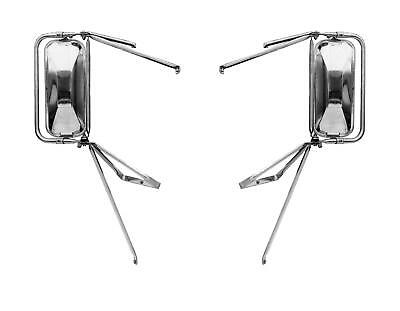 West Coast Stainless Steel Mirror Assembly 88-02Chevy/GMC Pickup 400 Series-PAIR