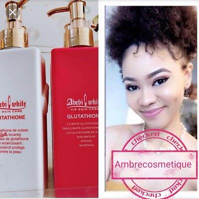 Lait Glutathione Extra Fort La Belle Touareg Abebiwhite Advanced Lightening