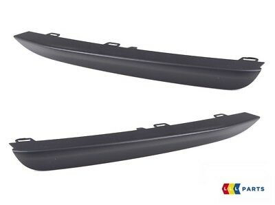Set of Two Front Outer Bumper Trim Air Inlet Finishers Genuine For BMW F30 F31