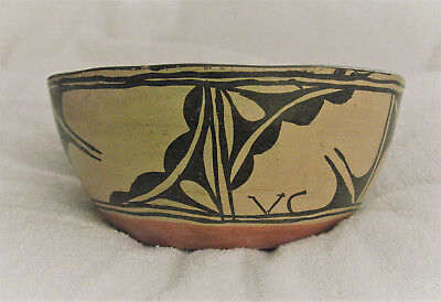 Vintage Santo Domingo Chili Bowl, Native American