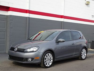 2012 Golf TDI 2-door Volkswagen Golf TDI Hatch 79k Mil United Gray Hatchback I-4 cyl 6-Speed Manual